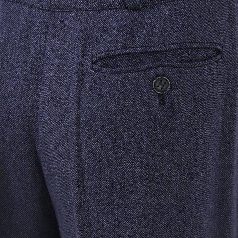 Women's 1990s Hermès Linen Pants For Sale