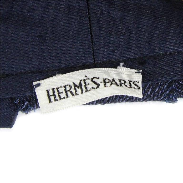 1990s Hermès Linen Pants For Sale 1