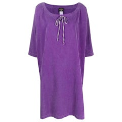 1990s Jean Paul Gaultier Purple Caftan