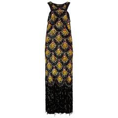1990s Jean Paul Gaultier Vintage Sequins Dress