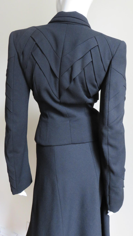 John Galliano Runway Skirt Suit 1990s For Sale 5