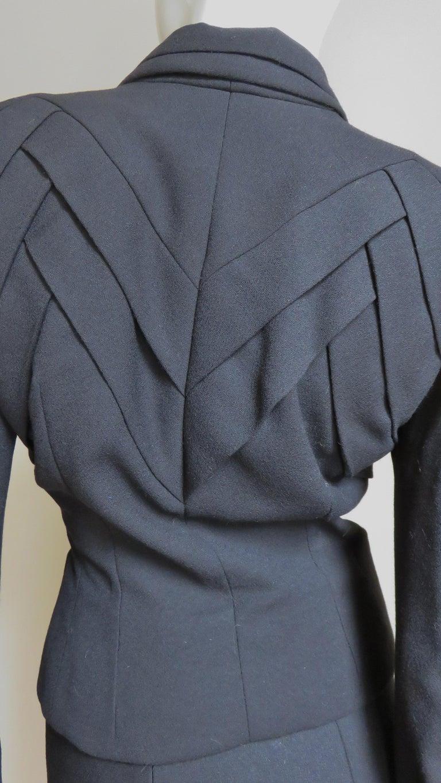 John Galliano Runway Skirt Suit 1990s For Sale 6