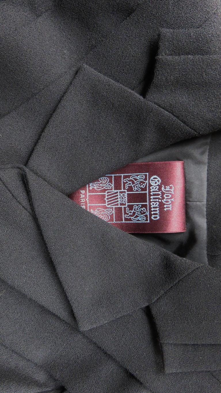 John Galliano Runway Skirt Suit 1990s For Sale 8