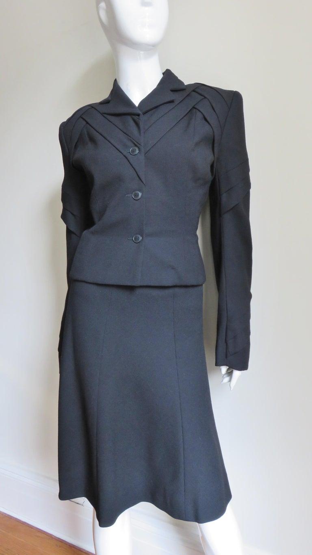 John Galliano Runway Skirt Suit 1990s For Sale 2