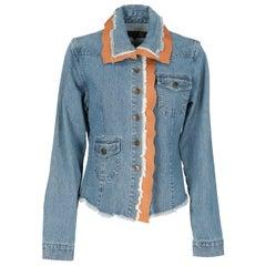 1990s Just Cavalli Denim Jacket