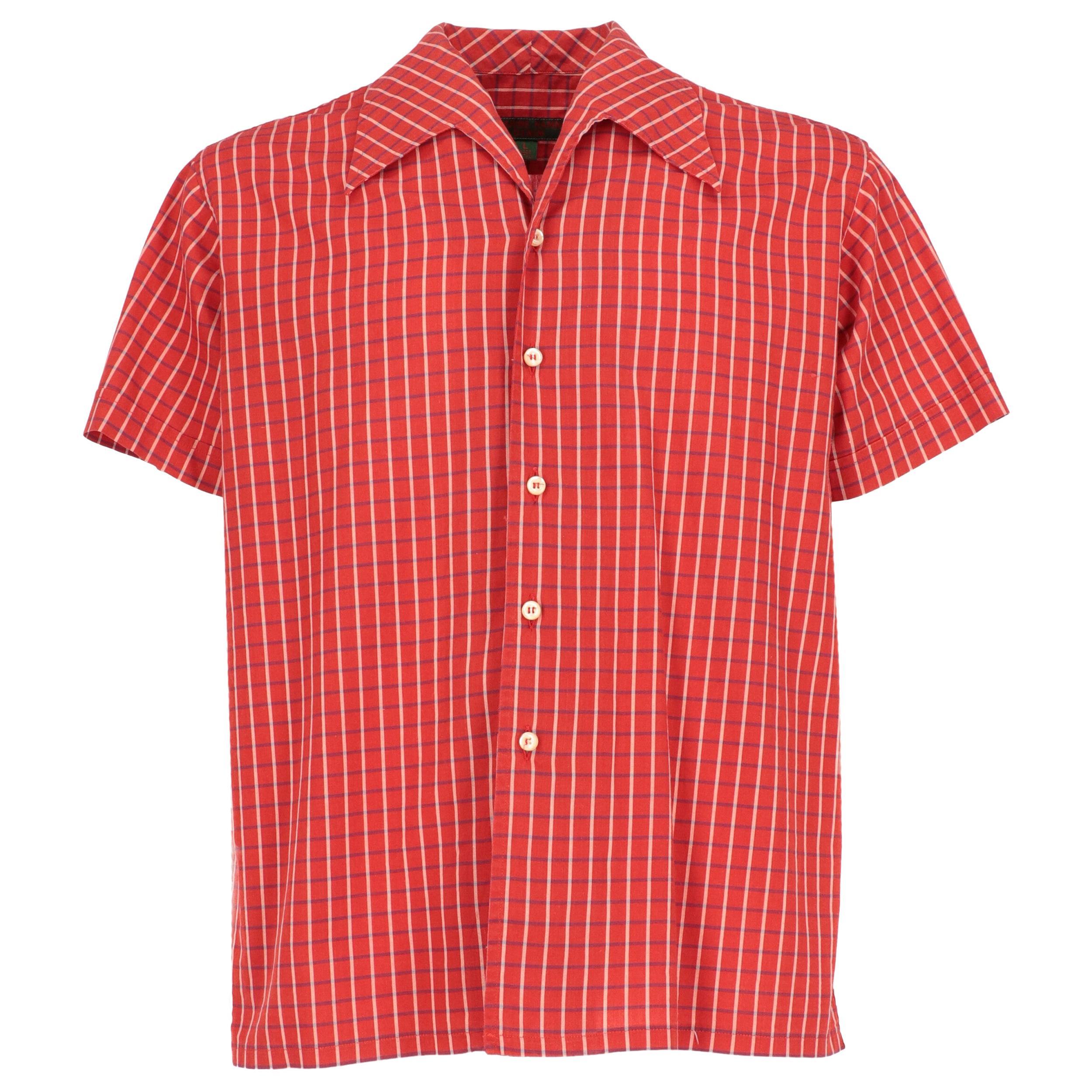 1990s Katharine Hamnett Checkered Shirt