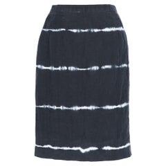 1990s Kenzo Jungle Tie-Dye Skirt
