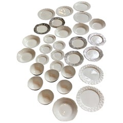 Michael Wainwright Dinnerware Set of 30 Pieces 1990s Limited Edition