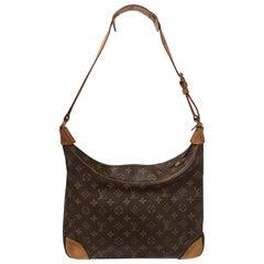 1990s Louis Vuitton Boulogne monogram shoulder bag