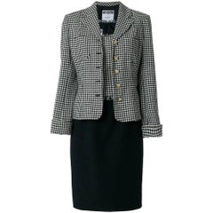 1990s Moschino Checked Suit