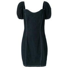 1990s Moschino Denim Dress