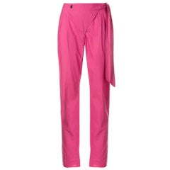 1990s Moschino Pink Trousers
