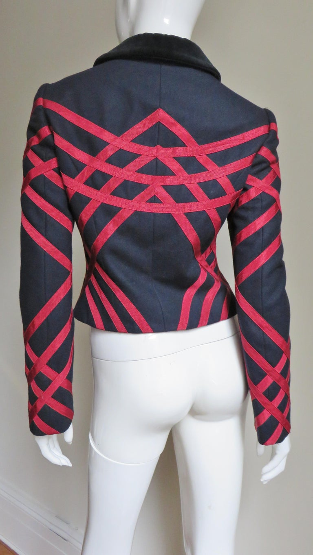 Moschino Geometric Pattern Jacket For Sale 5