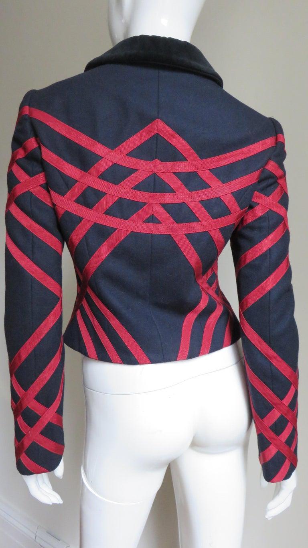 Moschino Geometric Pattern Jacket For Sale 3