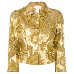 1990s Mugler Printed Jacket