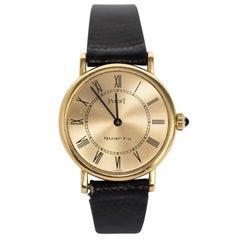 1990s Piaget 18 Karat Gold Ladies Wristwatch