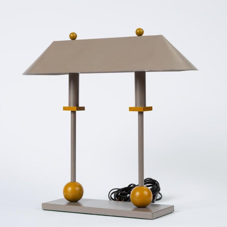 Post-Modern 1990s Postmodern Desk or Table Lamp by Robert Sonneman for George Kovacs For Sale