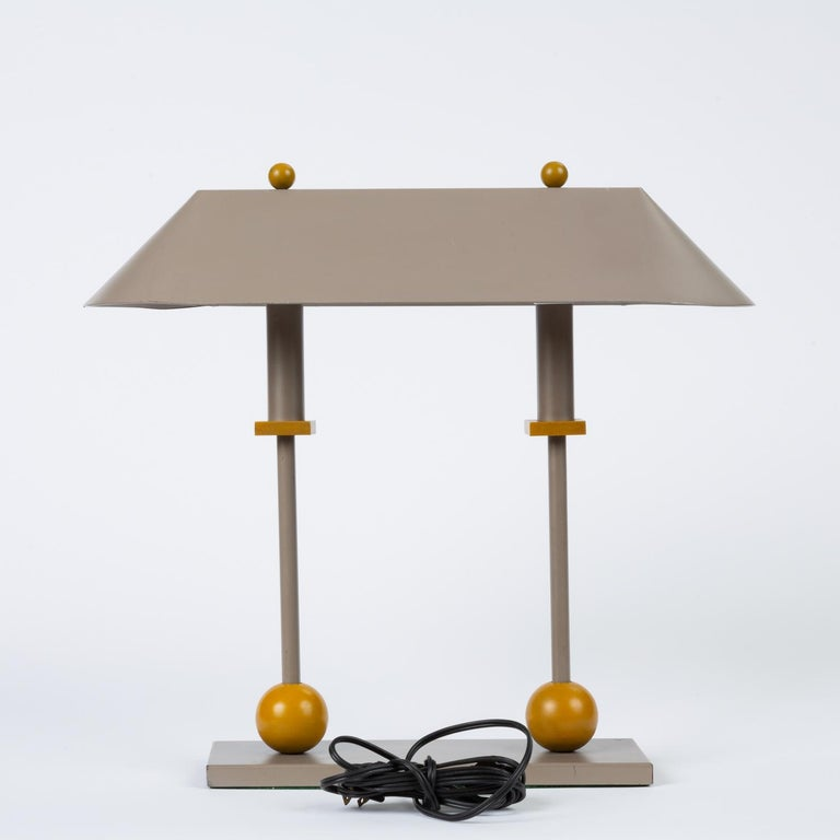 1990s Postmodern Desk or Table Lamp by Robert Sonneman for George Kovacs In Excellent Condition For Sale In Los Angeles, CA