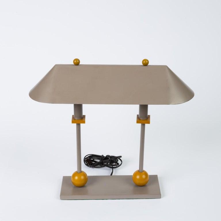 20th Century 1990s Postmodern Desk or Table Lamp by Robert Sonneman for George Kovacs For Sale