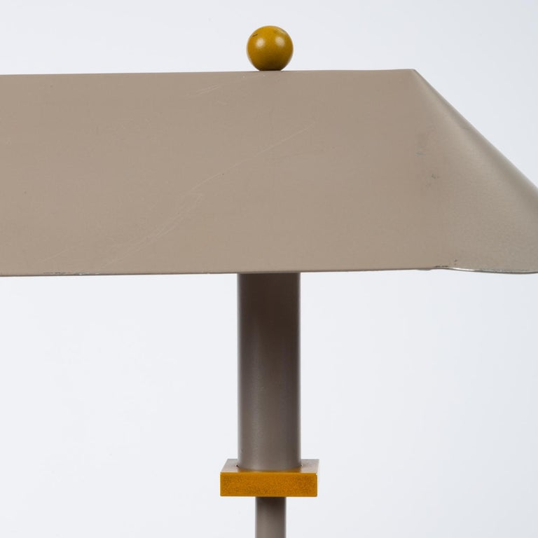 Aluminum 1990s Postmodern Desk or Table Lamp by Robert Sonneman for George Kovacs For Sale