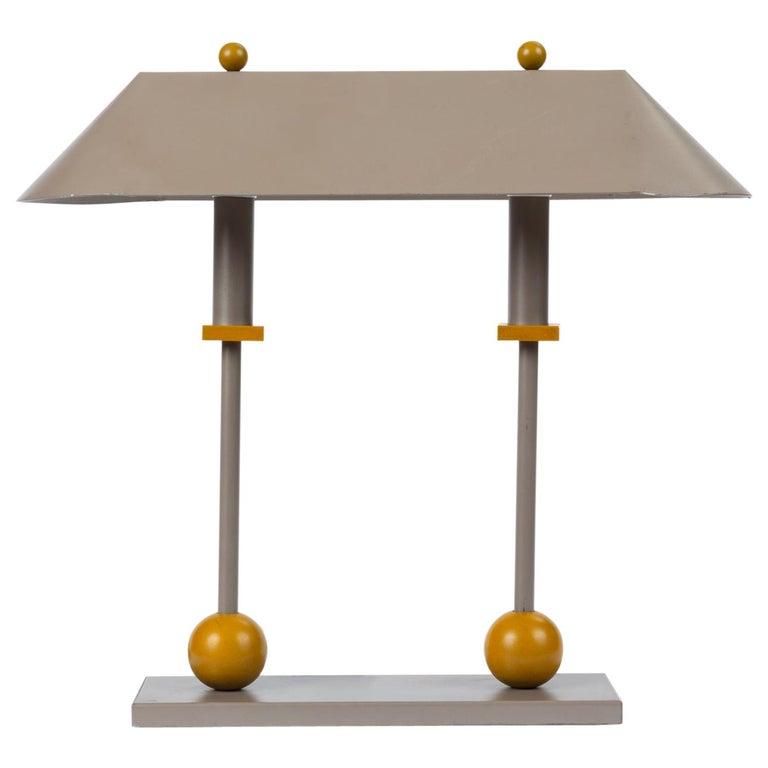1990s Postmodern Desk or Table Lamp by Robert Sonneman for George Kovacs For Sale