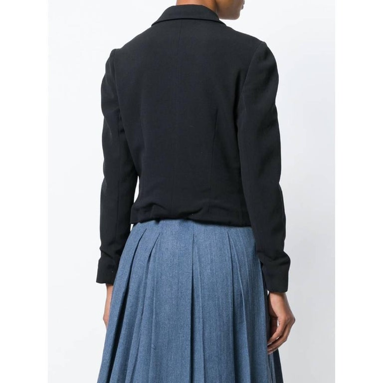 Women's 1990s Prada Black Jacket For Sale