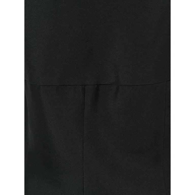 Women's 1990s Prada Black Midi Dress For Sale