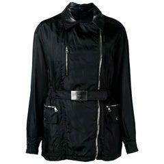 1990s Prada Black Nylon Jacket