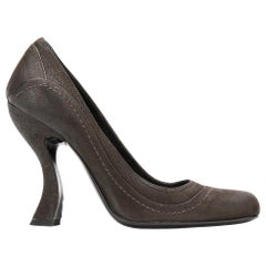 1990s Prada Brown Pumps