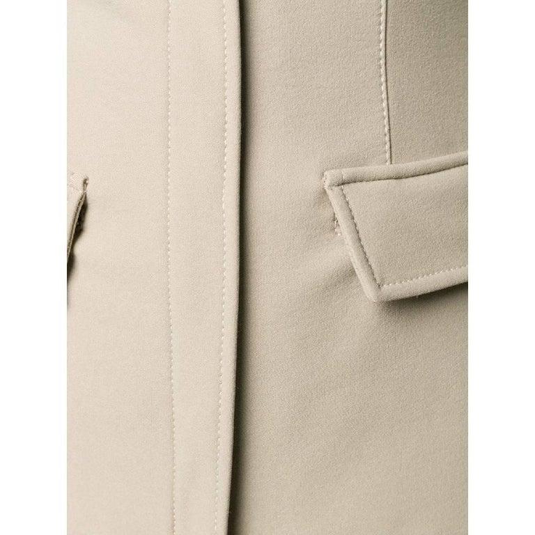 Women's 1990s Prada Dove Grey Jacket For Sale