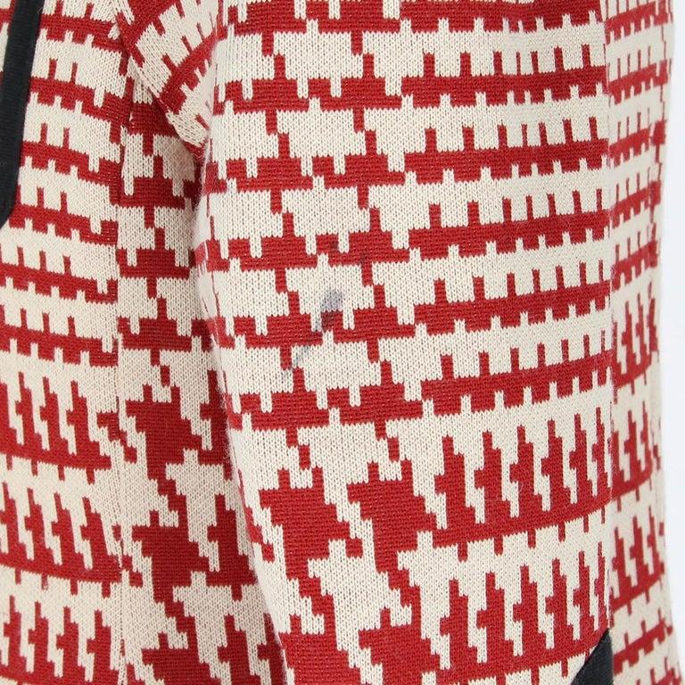 Women's 1990s Prada Geometric Pattern Jacket