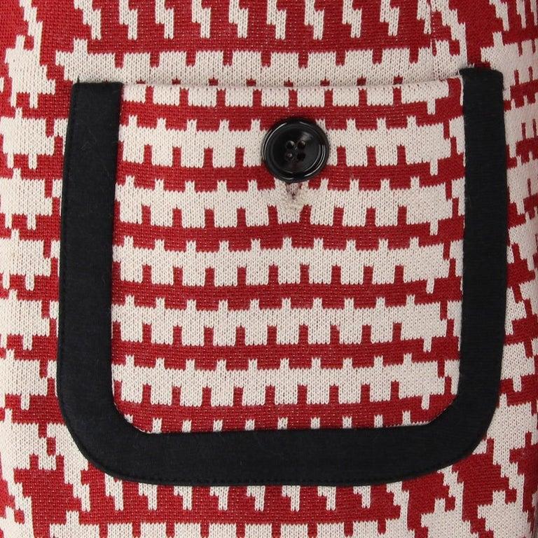 1990s Prada Geometric Pattern Jacket 1