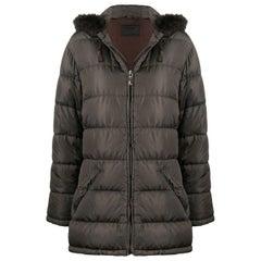 1990s Prada Hooded Coat