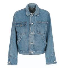 1990s Ralph Lauren blue cotton denim jacket