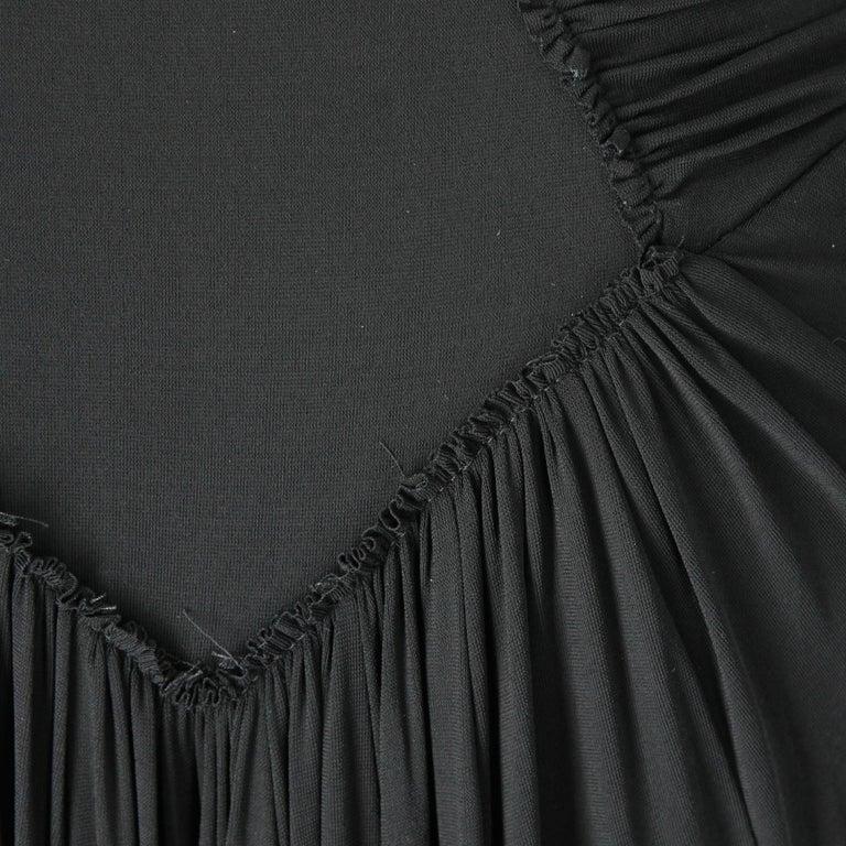 1990s  Roberto Cavalli Black Dress For Sale 2
