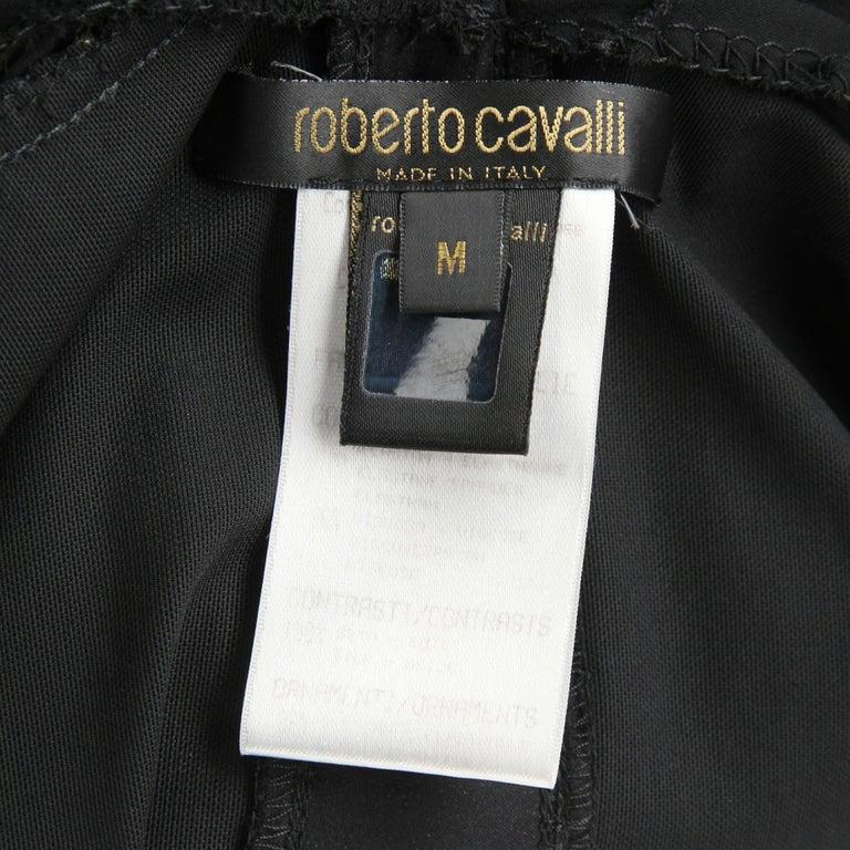 1990s  Roberto Cavalli Black Dress For Sale 3