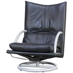 1990er Jahre Rolf Benz Relax Lounge Sessel bauen auf einem italienischen Morex Metall-Rahmen
