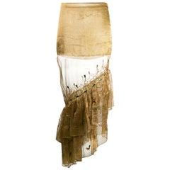 1990s Romeo Gigli Asymmetric Skirt