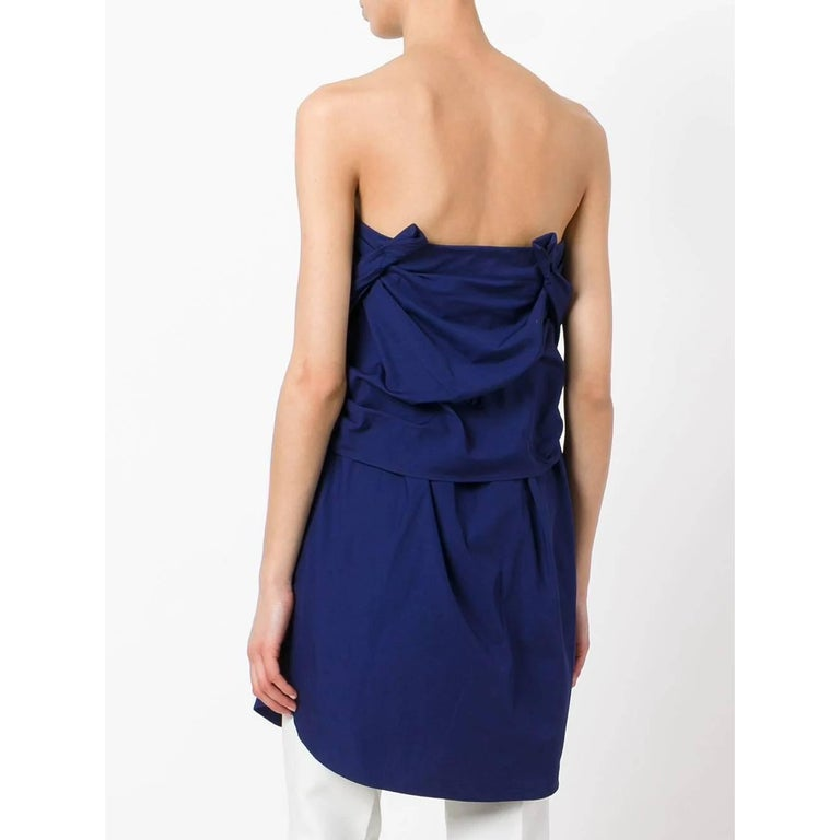 1990s Romeo Gigli Bandeau Dress In Good Condition For Sale In Lugo (RA), IT