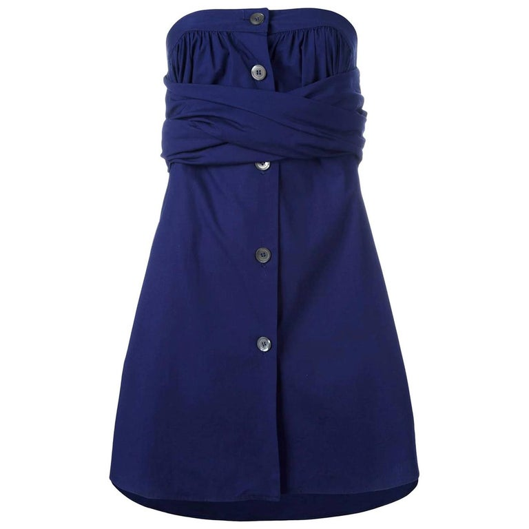 1990s Romeo Gigli Bandeau Dress For Sale