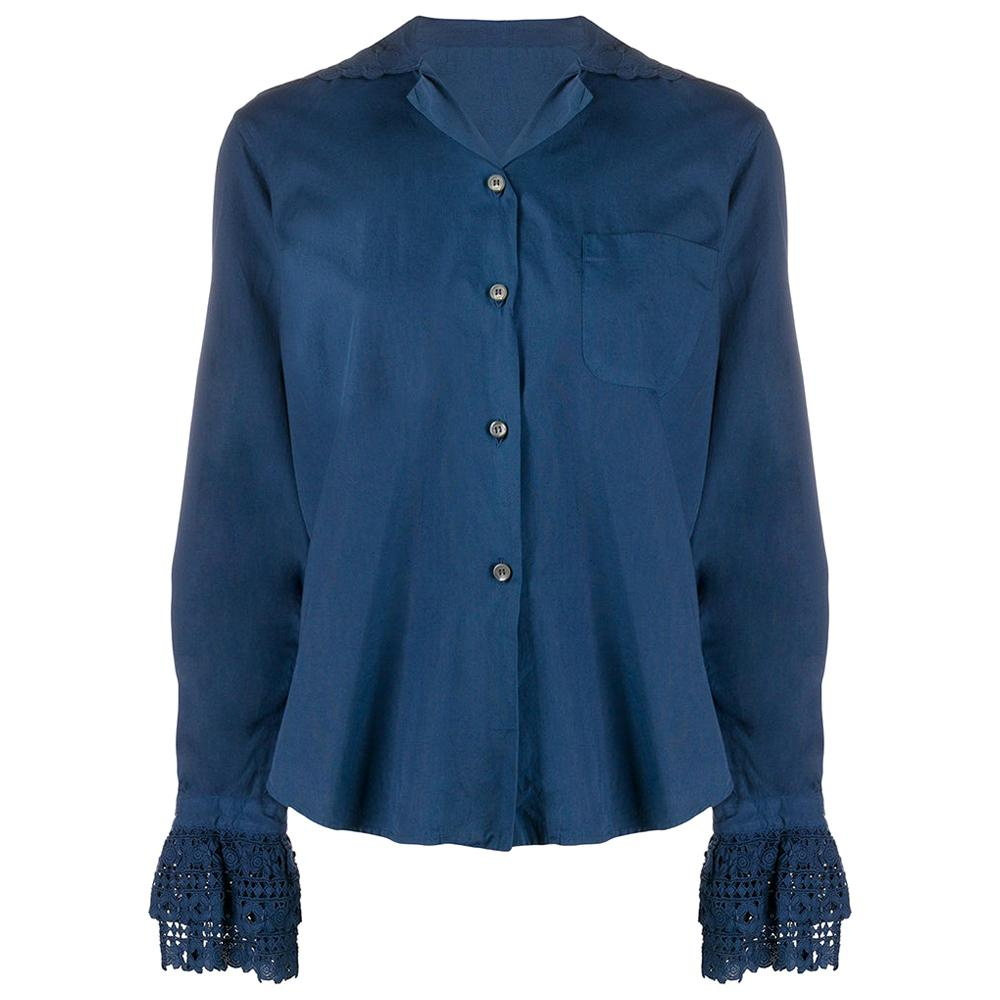 1990s Romeo Gigli Broderie Anglaise Shirt