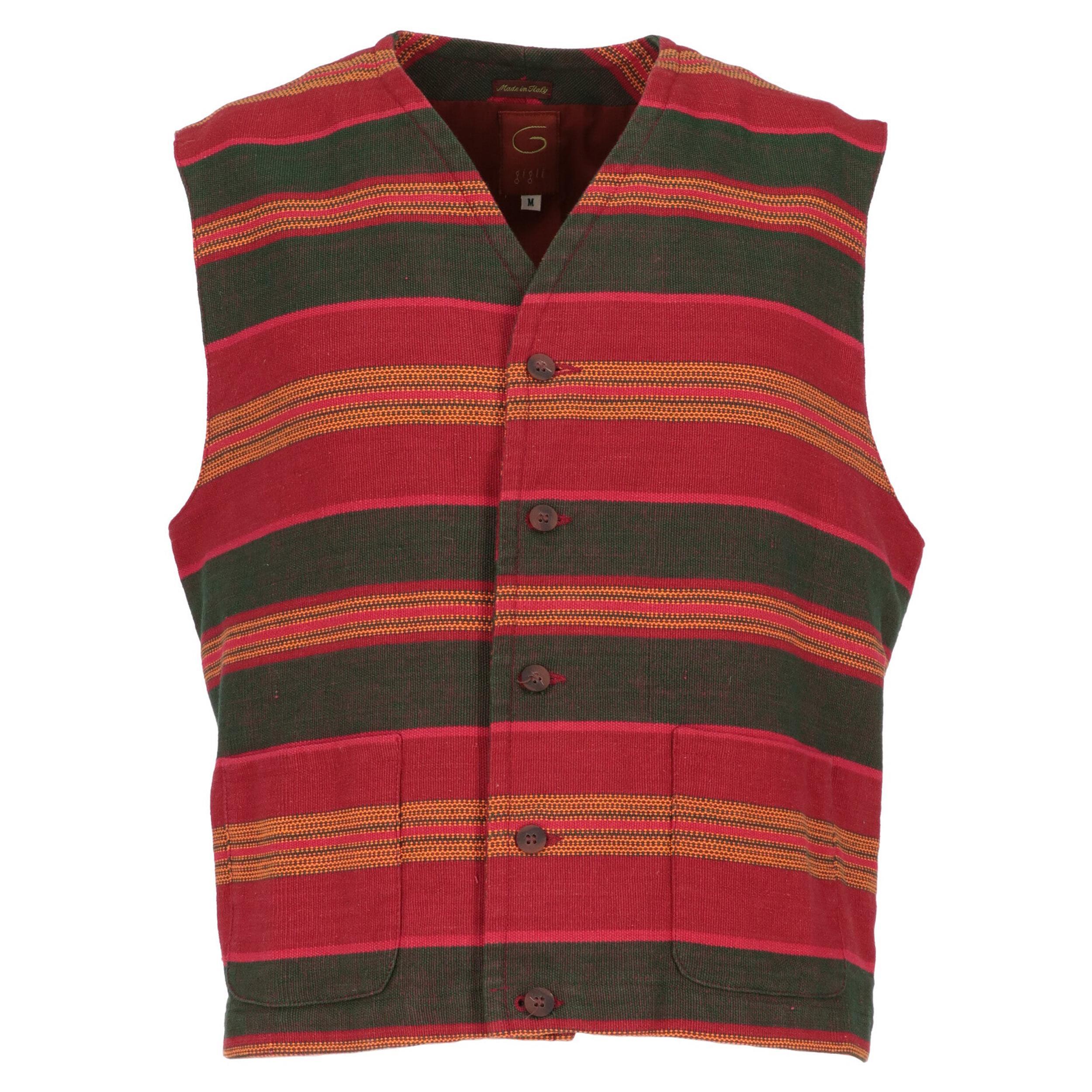 1990s Romeo Gigli Ethnic Pattern Vest