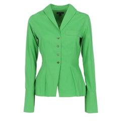 1990s Romeo Gigli Green Shirt