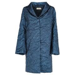 1990s Romeo Gigli Iridescent Overcoat
