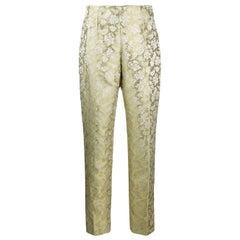 1990s Romeo Gigli Jacquard Trousers