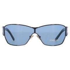 1990s Romeo Gigli Light Blue Sunglasses