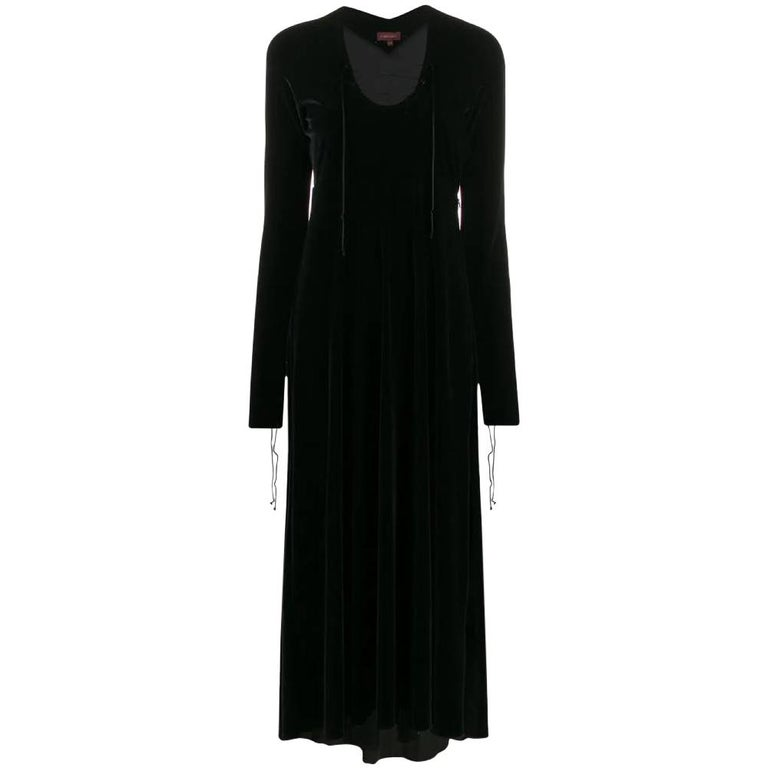 1990s Romeo Gigli Long Dress For Sale