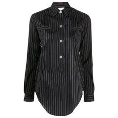 1990s Romeo Gigli Pinstripe Shirt