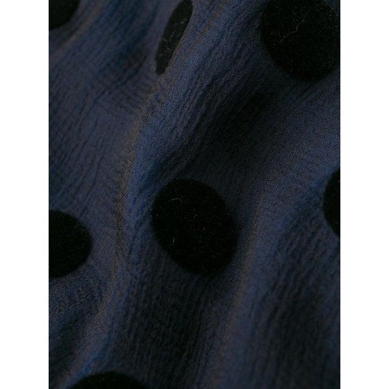 1990s Romeo Gigli Polka Dots Shirt For Sale 1