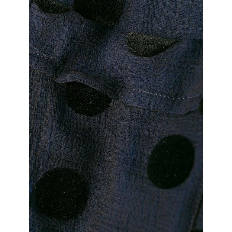 1990s Romeo Gigli Polka Dots Shirt For Sale 2